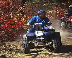 ATVing Florence County Wisconsin